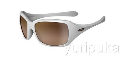 oakley ravishing sunglasses brown sugar  oakley ravishing pearl frame vr50 brown grad free post
