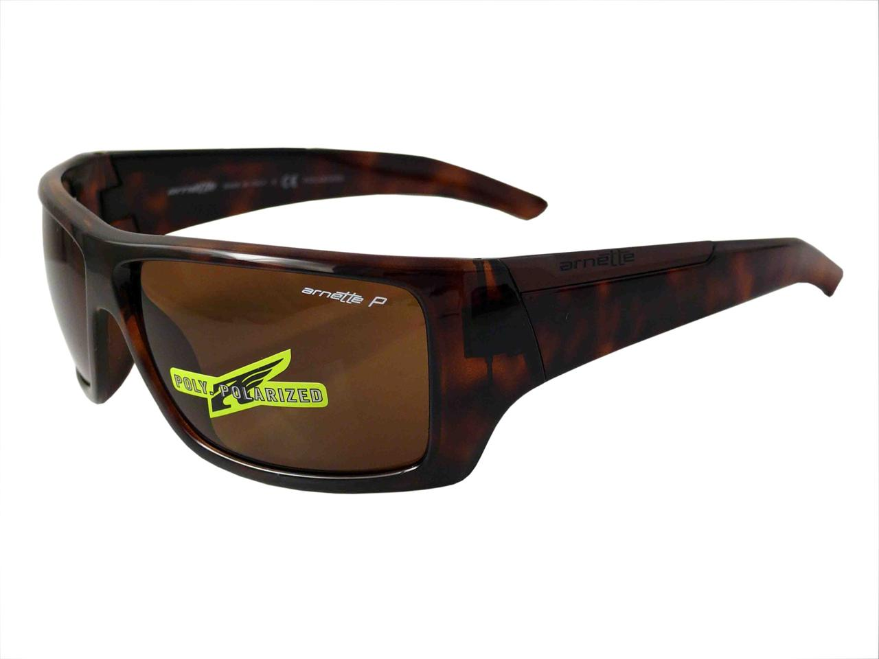 Arnette Hazard Mens Polarized Sunglasses AN4167 04 Havana ...
