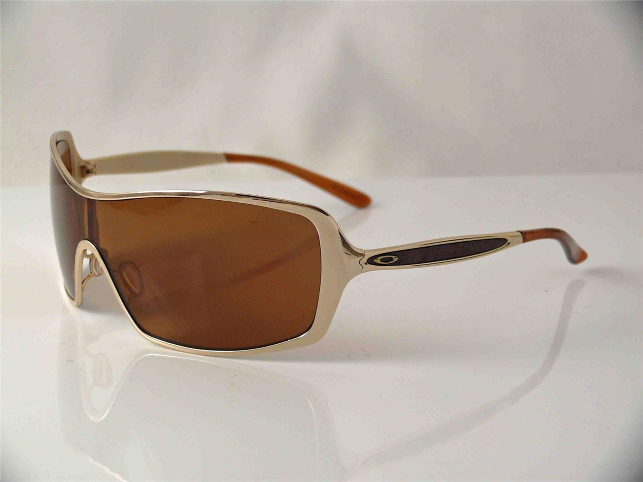 Oakley Gold Frame Sunglasses : OAKLEY POLARIZED SUNGLASSES REMEDY GOLD FRAME BRONZE ...