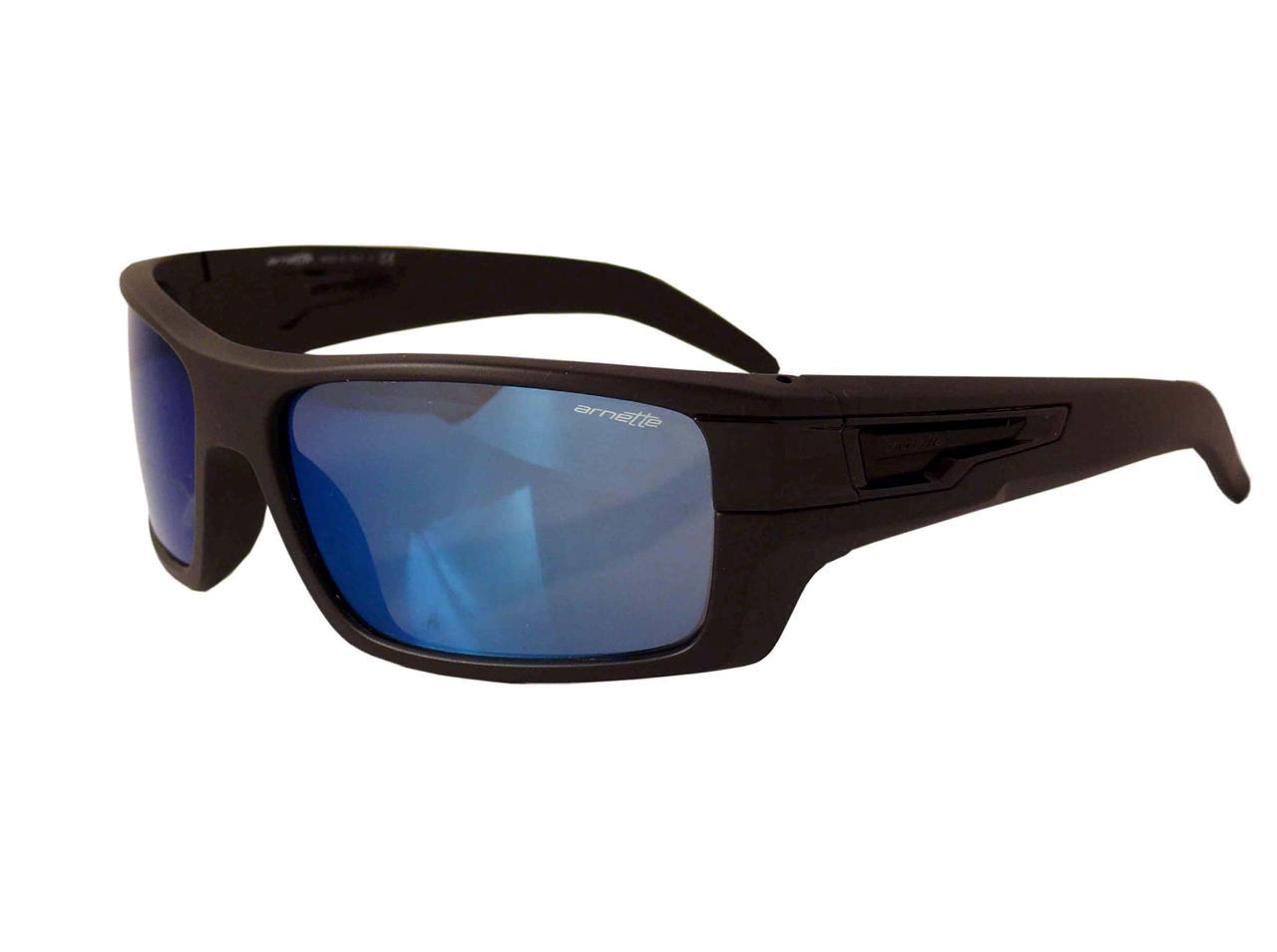 Mens Blue Frame Glasses : Arnette After Party Mens Sunglasses Matte Black Frame Blue ...