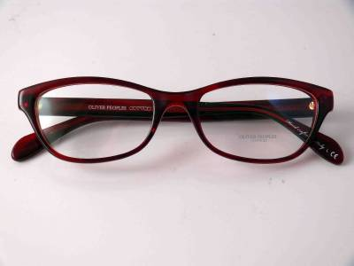 Frame Glasses Made In Italy : OLIVER PEOPLES GLASSES LUV EYEWEAR RED HAVANA FRAME Made ...