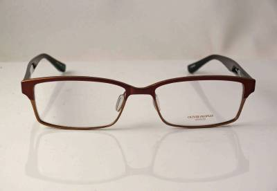 Titanium Eyeglass Frames Made In Japan : OLIVER PEOPLES GLASSES EYEWEAR COBAN CHOC GOLD TITANIUM ...