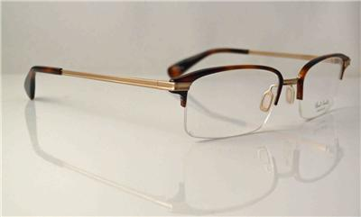 PAUL SMITH GLASSES SAMWELL BROWN METAL FRAME MADE IN JAPAN ...