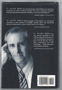 Lindbergh by A. Scott Berg (1998, Hardcover