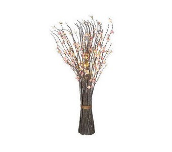 bethlehem lights battery operated spring branch arrangement white. Black Bedroom Furniture Sets. Home Design Ideas