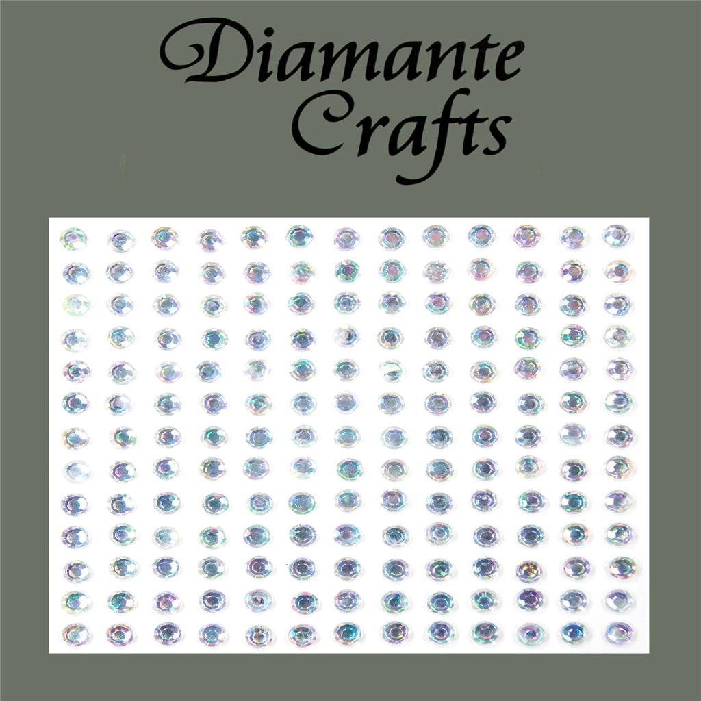 169 x 4mm Diamante Self Adhesive Rhinestone Body Gems Choose from 19 Colours