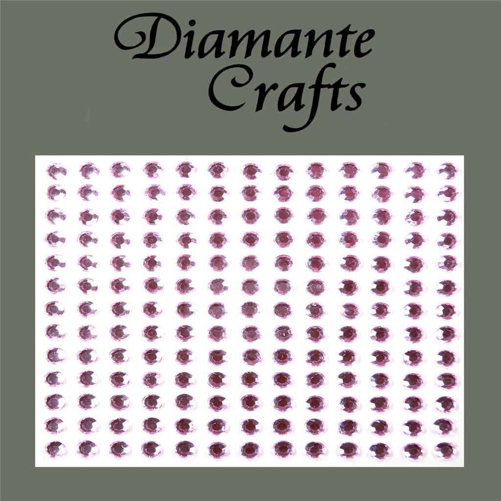 169-x-4mm-Diamante-Self-Adhesive-Rhinestone-Body-Gems-Choose-from-19-Colours