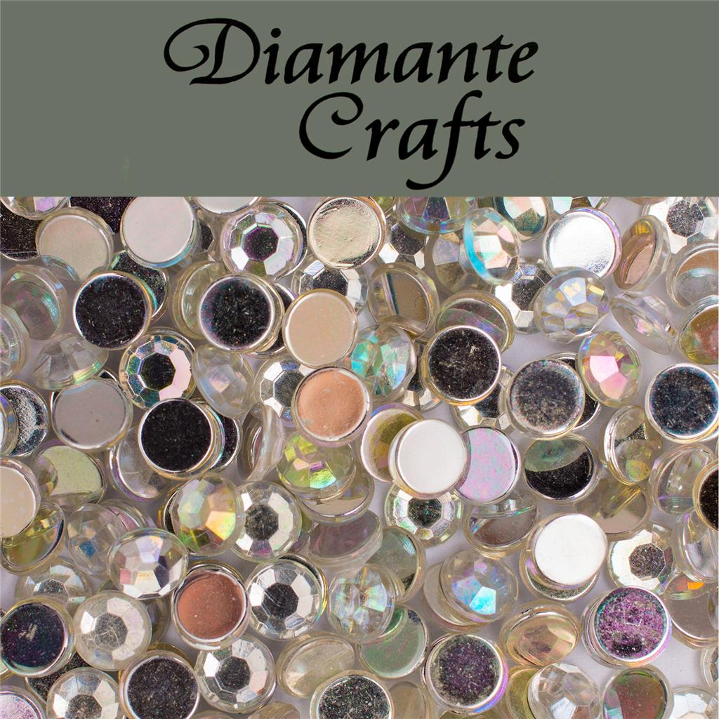 1000 diamante loose flat back rhinestone craft for Plastic gems for crafts