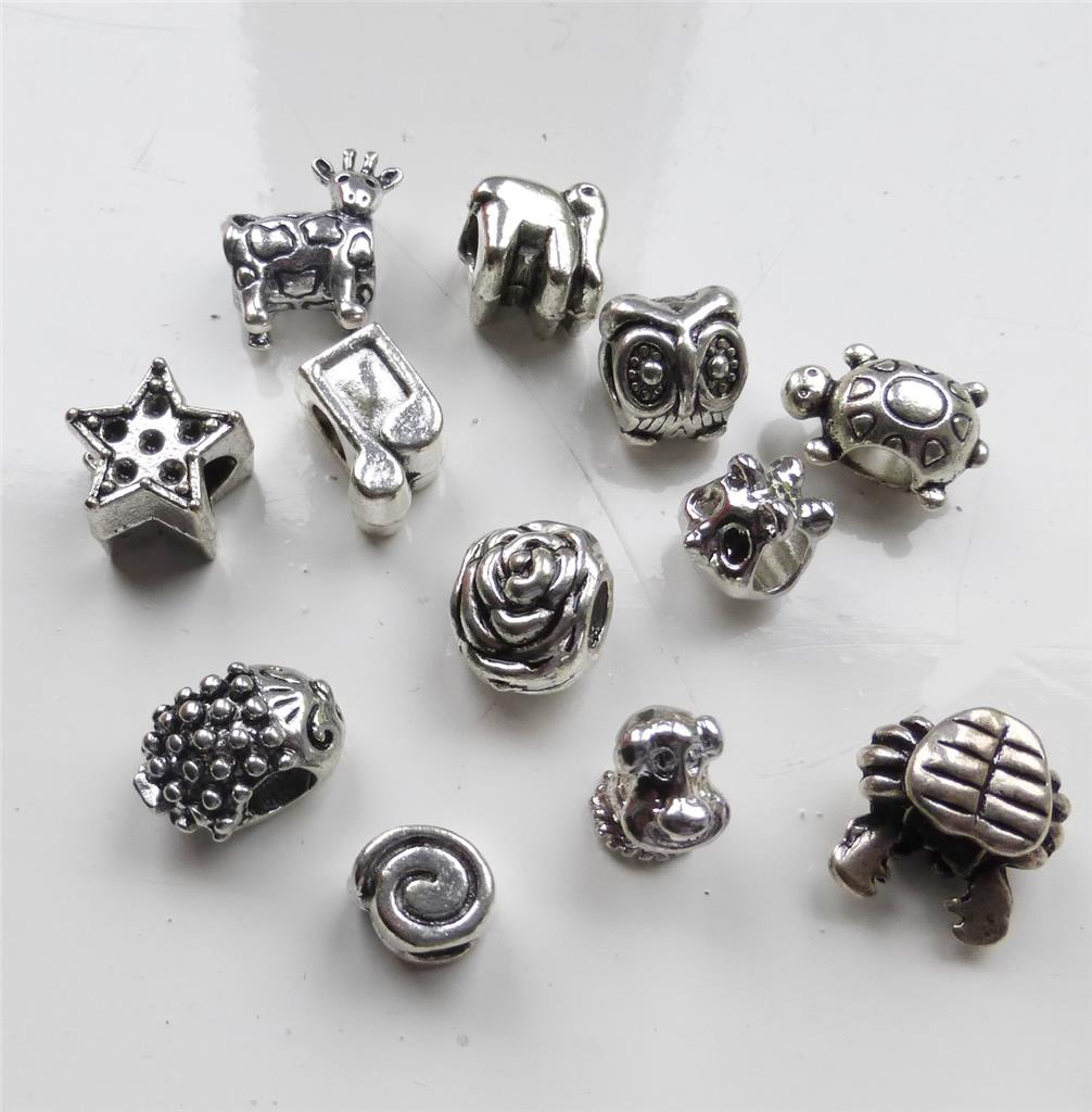 wholesale tibetan silver spacer for fit european