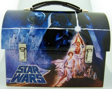 Luke Leia Lunchbox Tin Kids Meal Pail Collectable Keepsake Box