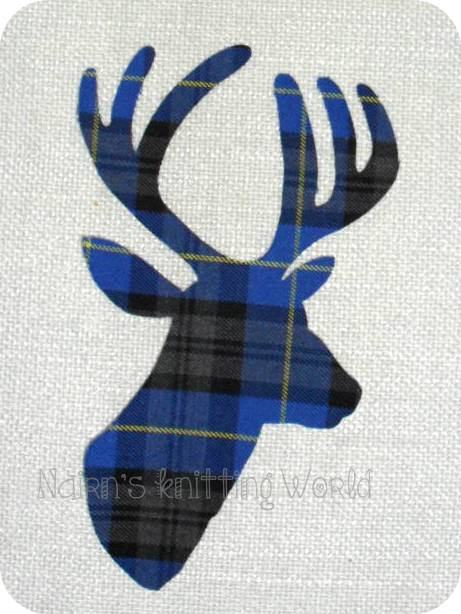 doe deer head applique pattern free pinterest