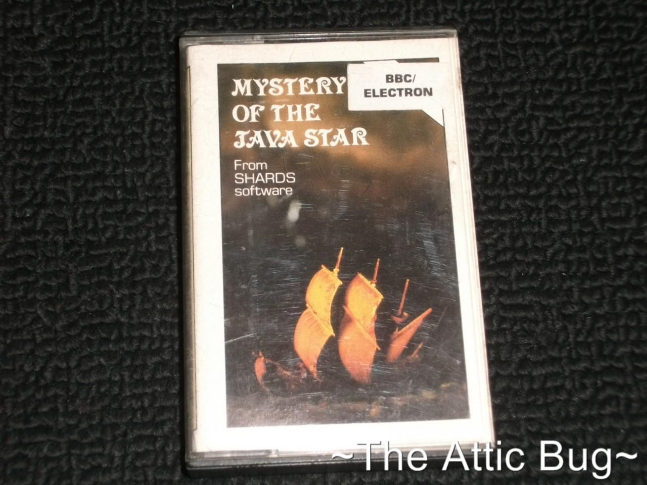 BBC-Micro-Acorn-Electron-Mystery-of-the-Java-Star-by-Shards