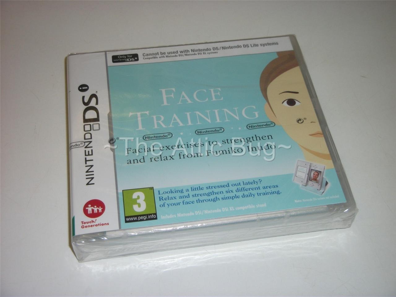 Nintendo-DS-Face-Training-New-Nintendo-Sealed-UK-Release