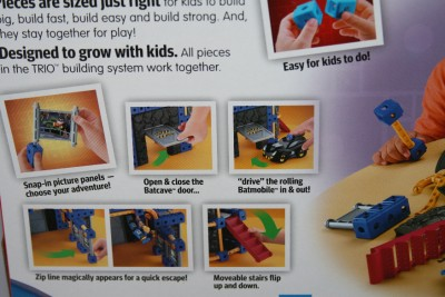 Trio Batcave Instructions