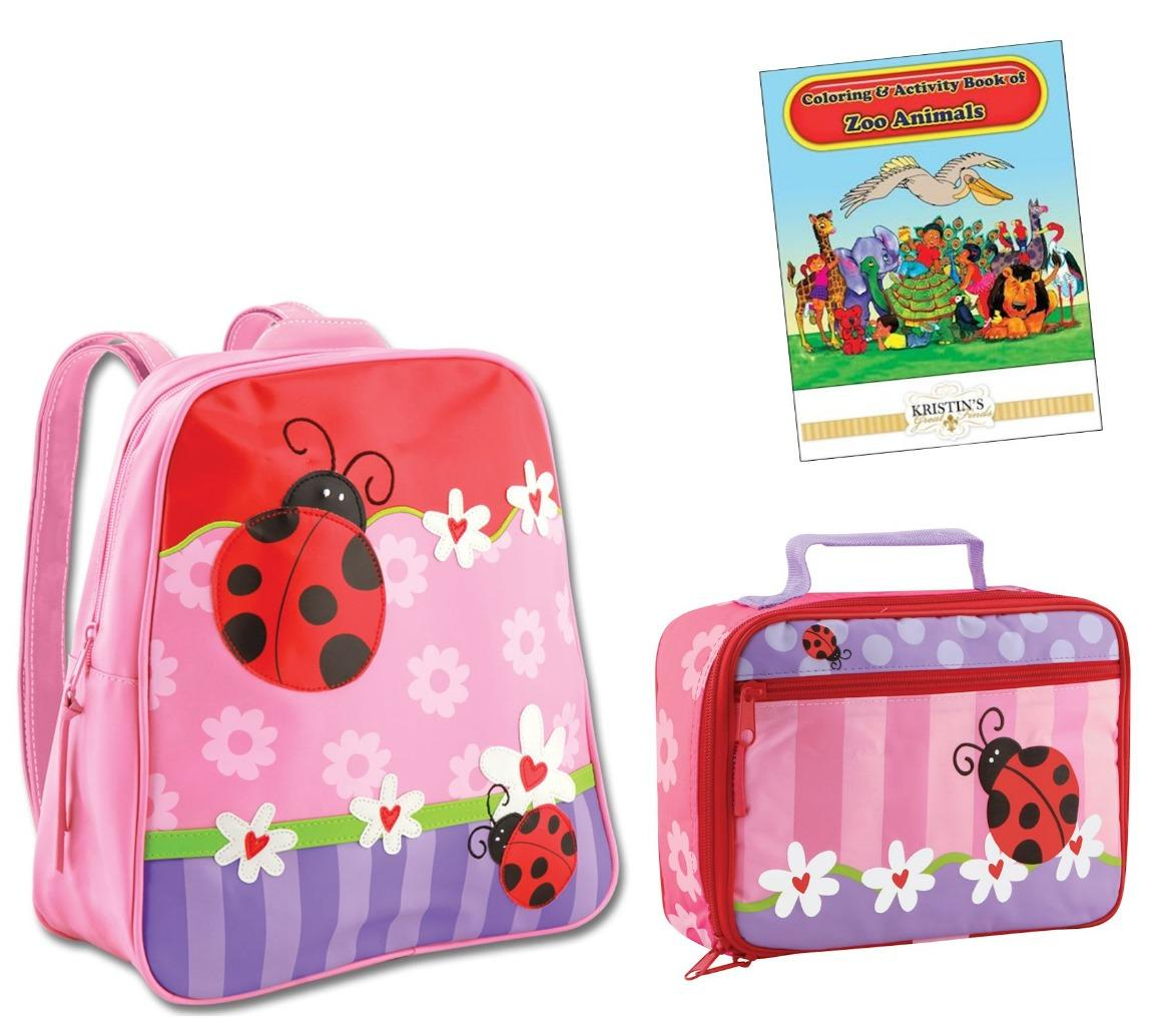 Stephen Joseph GOGO GO Backpack Lunch Box Set