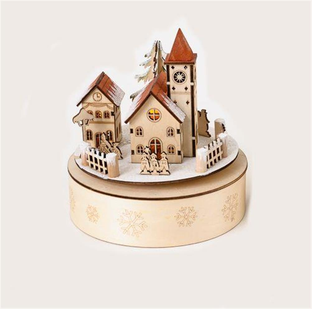 180 degrees christmas bavarian alpine church village for 180 degrees christmas decoration