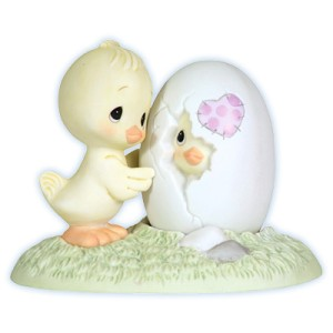 Precious Moments Figurine Valentines Day 113002 LOVE AT FIRST SIGHT