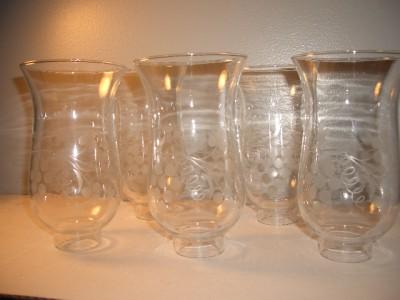 Vintage Glass Ceiling light Chandelier Globes Shade