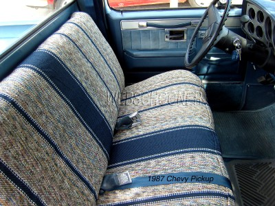 Tp on Chevy Truck Bench Seat Covers