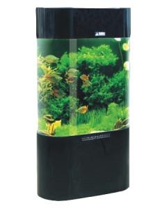 Details about Column Aquarium Acrylic Fish Tank Oval Shaped 230L New