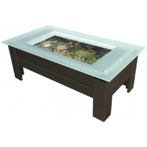 Coffee table aquarium fish tank with built filtration ebay for Fish aquarium coffee table