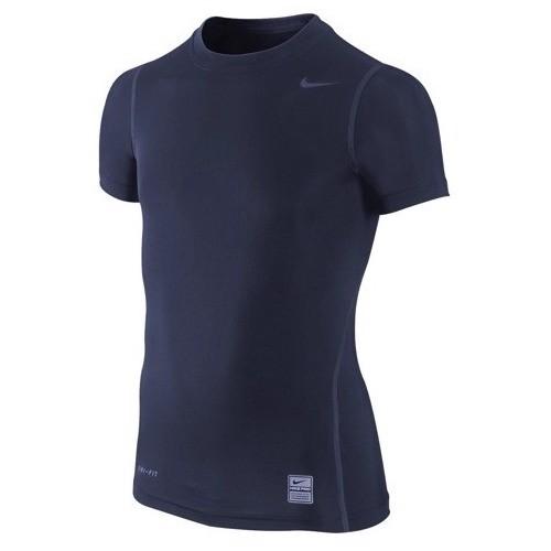 Nike Boys 39 Pro Core Short Sleeve Training Shirt Dri Fit