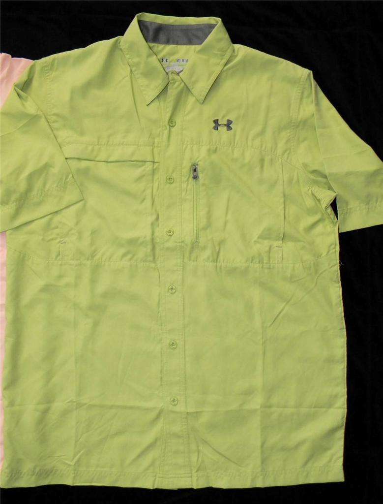 Under armour offshore flats guide ii short sleeve fishing for Under armor fishing shirt