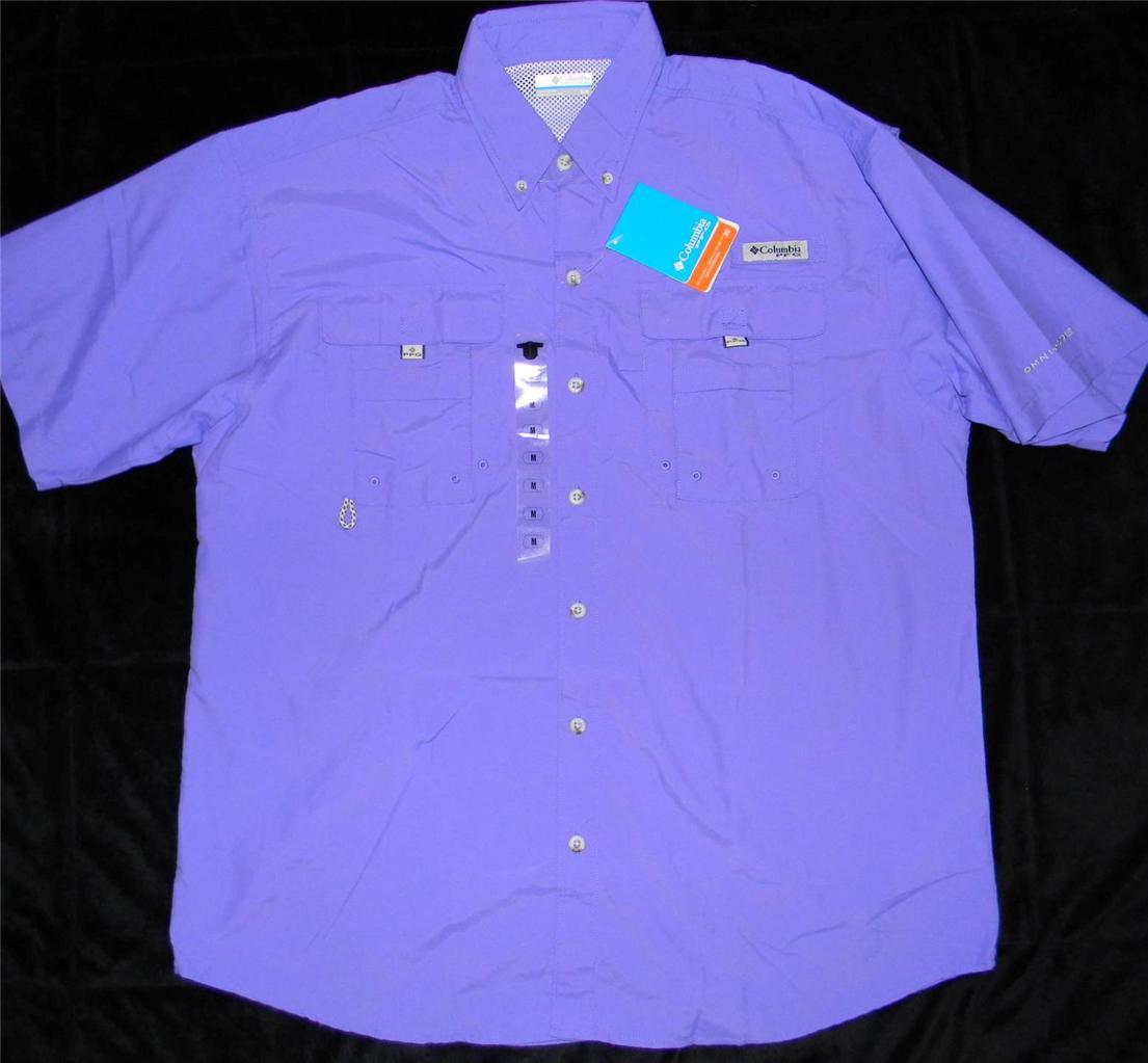 Columbia Men 39 S Pfg Bahama Ii Short Sleeve Fishing Shirt