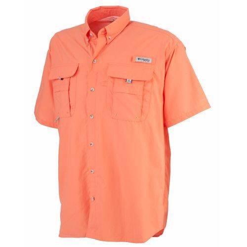 Columbia men 39 s pfg bahama ii short sleeve fishing shirt for Pfg fishing shirts