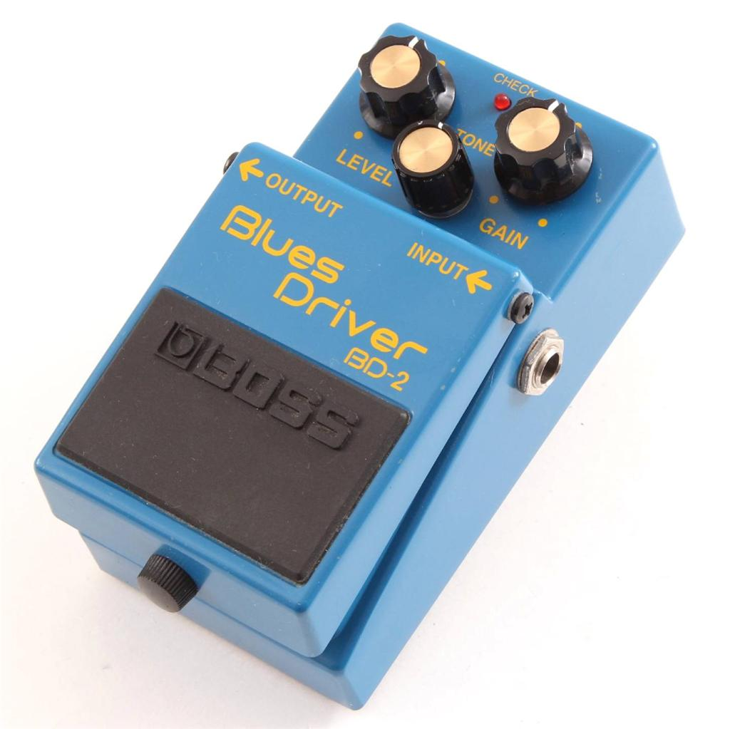 Boss Bd 2 Bd2 Blues Driver Guitar Effects Pedal Pd 7645