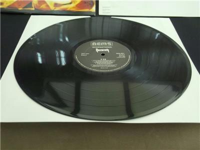 Nazareth 2xs 1982 Uk Press 12 Quot Vinyl Record Album Ex Ex Ebay