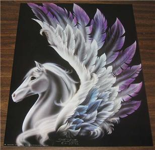 16x20 In Fantasy Art PEGASUS