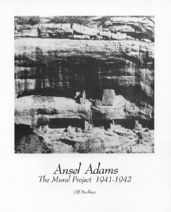 Ansel adams photo art print cliff dwellings 8x10 in ebay for Ansel adams mural project 1941 to 1942