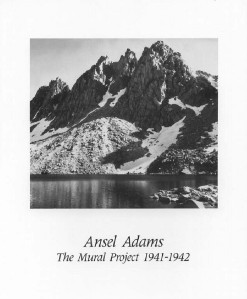 Ansel adams photo art print kearsage pinnacles 8x10 ebay for Ansel adams the mural project prints