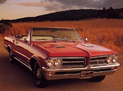 1964 Pontiac GTO 10x8 In Photo Print