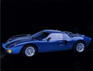 1965 Ford GT 40 10x8 In Photo Print