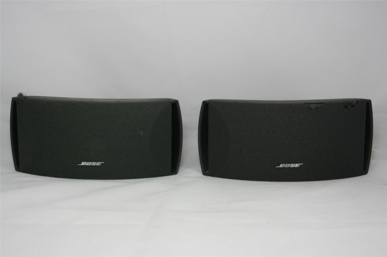 2 bose 3 2 1 surround sound speakers 321 ebay. Black Bedroom Furniture Sets. Home Design Ideas