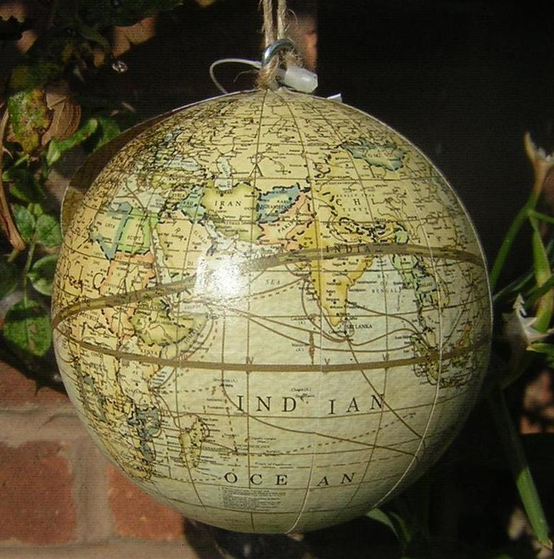 vintage atlas hanging decoration boys bedroom atlas globe