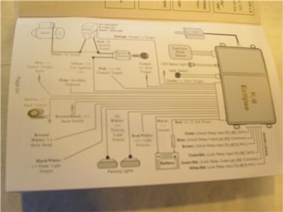 K9 Eclipse 2 Way LCD Pager Car    Alarm    w Keyless 3 ch NEW   eBay