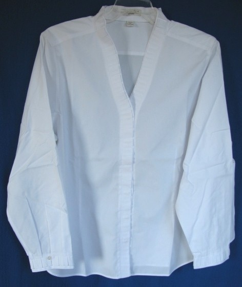 White No Iron Blouses 24