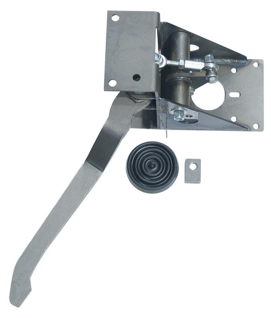 Right Angle Booster : Hot rod universal degree under dash brake pedal ebay