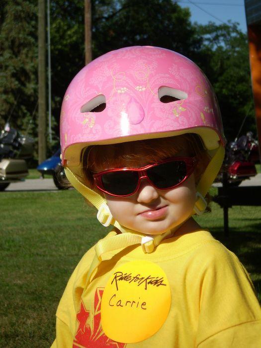 Carrie Ann in Helmet_Ride4Kids2008