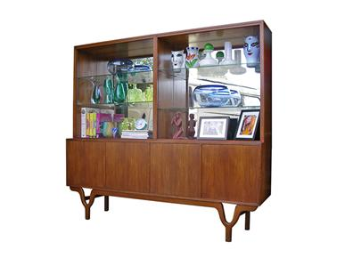 Retro Vintage 60s Mid Century Rosando Teak Sideboard Restored Zoureff Rudowski Ebay