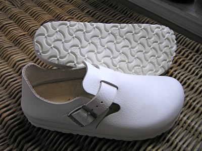 birkenstock shoes leather white 37n l6 nursing ebay