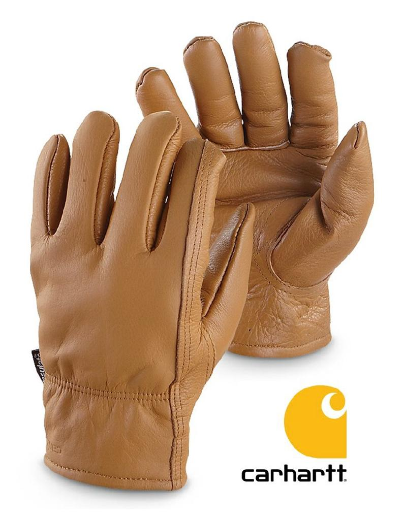 Mens gloves for driving - Image Is Loading Mens Carhartt Cowhide Leather Driver Driving Gloves W