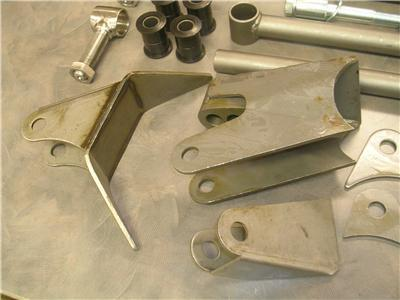 TRIANGULATED 4 LINK FOUR BAR KIT UNIVERSAL STREET ROD HOT ROD