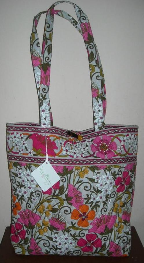Vera Bradley Tea Garden Print Tote Nwt Ebay
