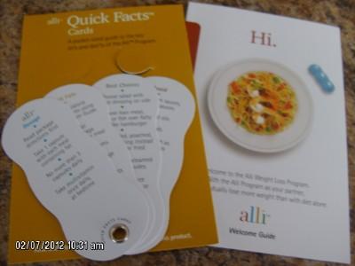 Дневник Alli Weight Loss Book Kit, 7 piece set в интернет магазине Ru-ebay.com