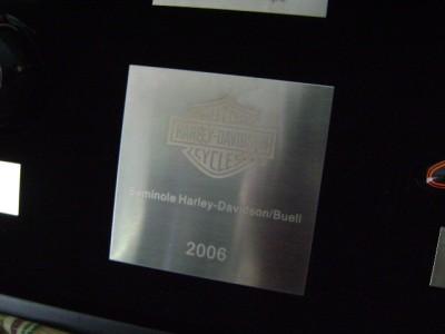 2006 Harley Davidson Motorcycle Mini Gas Tanks and Case