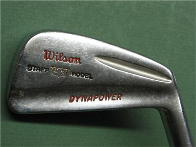 Used Ladies Golf Clubs >> Vintage Wilson Staff Dynapower 1969 Iron Set REG FLEX STEEL MATCHED SET 2-PW   eBay
